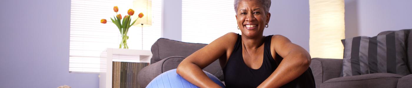 Corefit Fitness Programme   Core Fit Unique   Woman Sitting Down