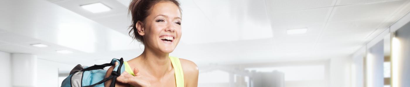 Corefit Fitness Programme | Core Fit Unique | Girl at Gym